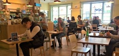 Prose-Ode to Waterstones Café, York Minster and a Couple of Streets